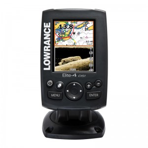 Эхолот-картплоттер Lowrance Elite 4 DSI (DownScan Imaging™)